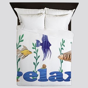 Relax Tropical Fish Queen Duvet