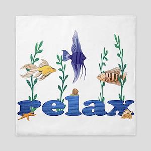 Relax Tropical Fish Queen Duvet