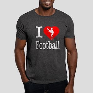 I Love Football Dark T-Shirt