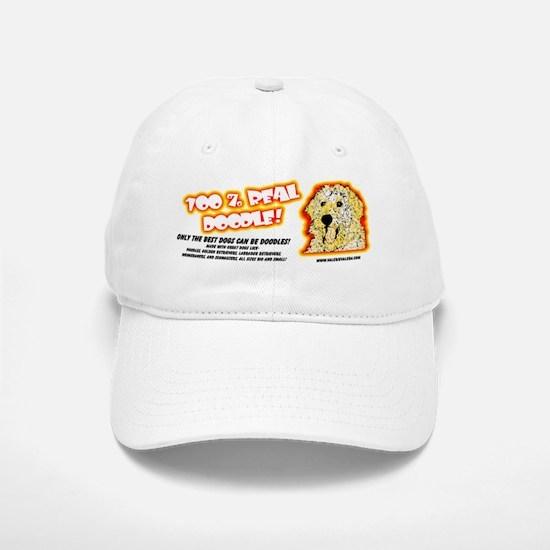 100% Real Doodle! Baseball Baseball Cap