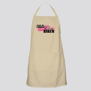 Forget the Cowboy, Ride a Biker Apron