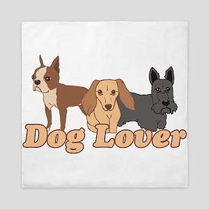 Dog Lover Queen Duvet