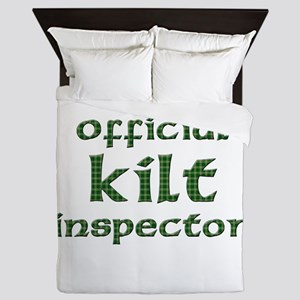 Official Kilt Inspector Queen Duvet