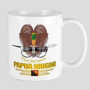 """""""Papua New Guinea COA"""" Mug"""