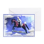 Horse Jumping Encouragement Cards (Pk of 10)