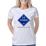 hazmat_10x10_dot_power_1c  Women's Classic T-Shirt