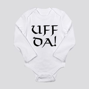Uff Da! Long Sleeve Infant Bodysuit