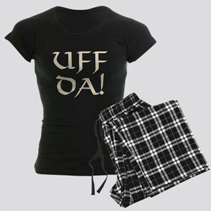 Uff Da! Women's Dark Pajamas