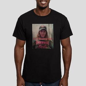 Evil Trucker Girl Men's Fitted T-Shirt (dark)