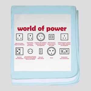 World of Power baby blanket