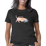 Basset Silhouette Women's Classic T-Shirt