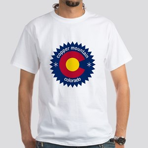 Copper Mountain White T-Shirt