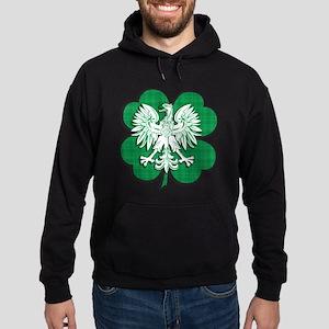 Irish Polish Heritage Hoodie (dark)
