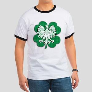 Irish Polish Heritage Ringer T