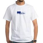 *New* AW Logo Men's White T-Shirt w/URL