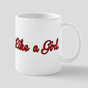I Throw Like a Girl Mug