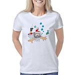 Scuba Diving Santa Women's Classic T-Shirt