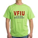 Voter Fraud Green T-Shirt