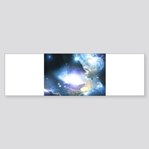 The Beautiful Outer Space Sticker (Bumper)