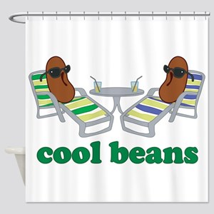 Cool Beans Shower Curtain