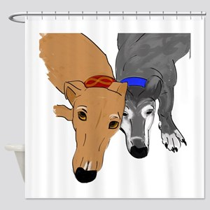 Drawn Together Shower Curtain