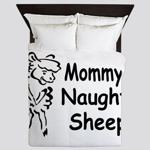 Mommy's Naughty Sheep Queen Duvet