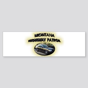 Montana Highway Patrol Sticker (Bumper)