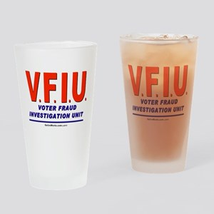 Voter Fraud Drinking Glass