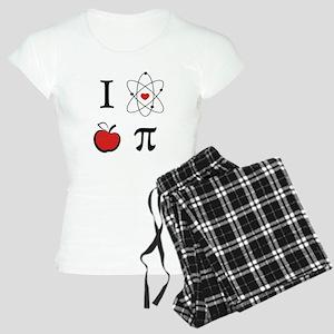 I love apple pi Women's Light Pajamas