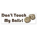 Don't Touch My Balls! Sticker (Bumper 10 pk)