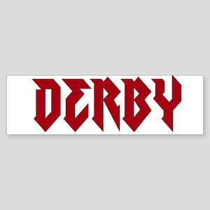 derby, demolition derby Bumper Sticker