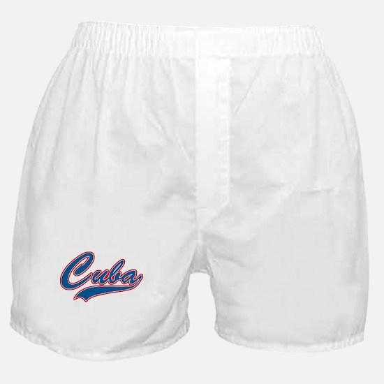 Retro Cuba Boxer Shorts