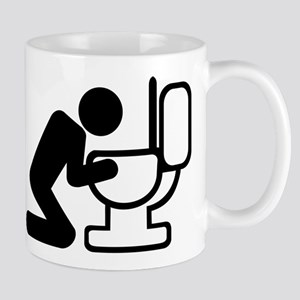 Alcohol puke drunk Mug
