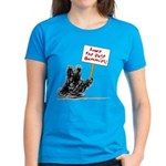 Save the Dust Bunnies! Women's Dark T-Shirt