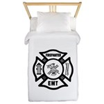 Firefighter EMT Twin Duvet