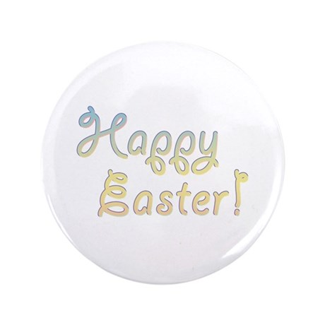 """Happy Easter 3.5"""" Button (100 pack)"""