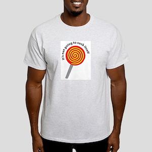 Lollipop Ash Grey T-Shirt