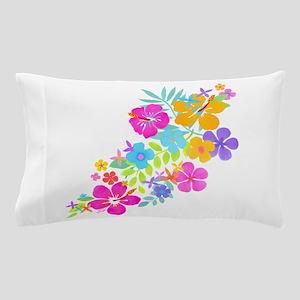 Tropical Flowers Pillow Case