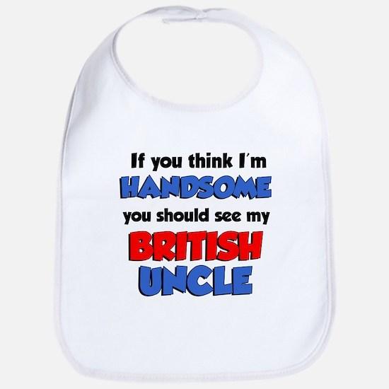 Think Handsome British Uncle Bib
