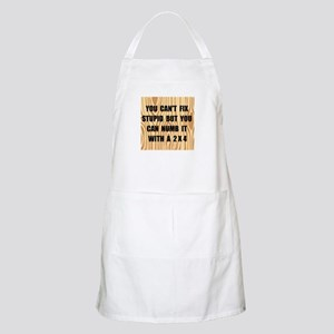 Numb Stupid Apron