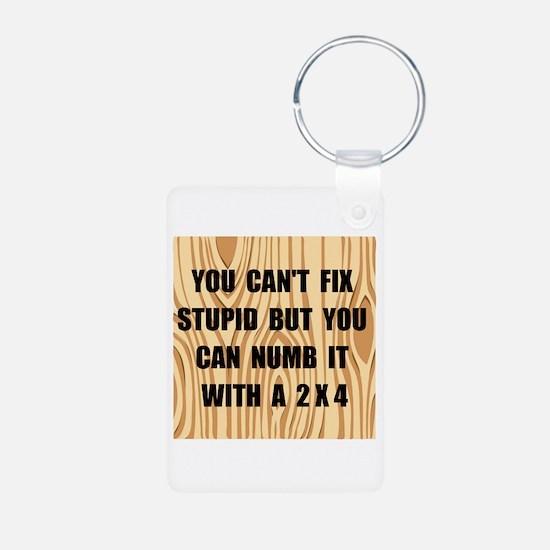 Numb Stupid Keychains