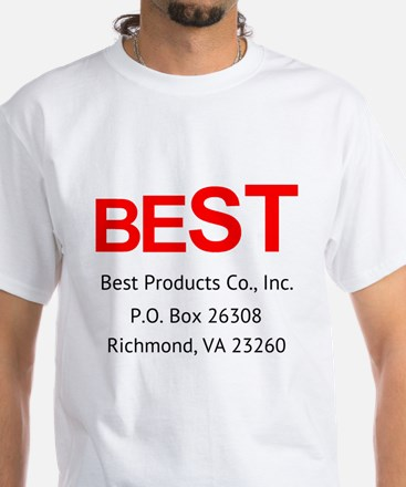 Best Products Company White T-Shirt