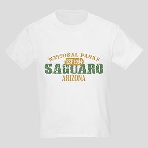 Saguaro National Park Arizona Kids Light T-Shirt