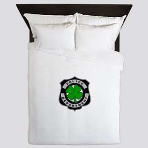 Irish Police Officers Queen Duvet