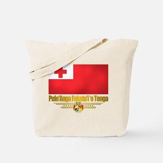 """""""Tonga Flag"""" Tote Bag"""