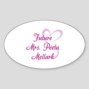 HG Future Mrs. Peeta Mellark Sticker (Oval)