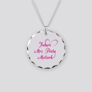 HG Future Mrs. Peeta Mellark Necklace Circle Charm