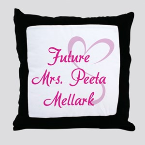 HG Future Mrs. Peeta Mellark Throw Pillow