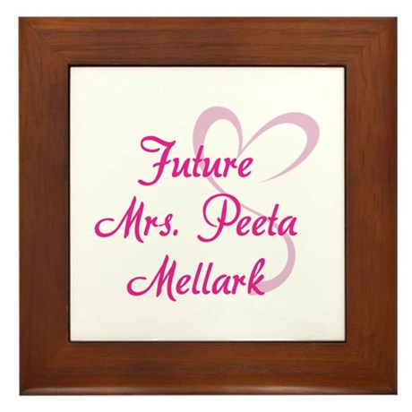 HG Future Mrs. Peeta Mellark Framed Tile