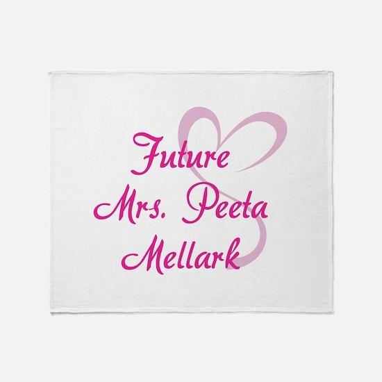 HG Future Mrs. Peeta Mellark Throw Blanket